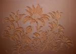 Flannel Flowers Linocut