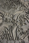 Wildflower Commission lino block - Linocut