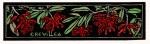 Grevillea speciosa - Red Spider Flower - Linocut
