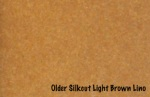 older silkcut light brown lino