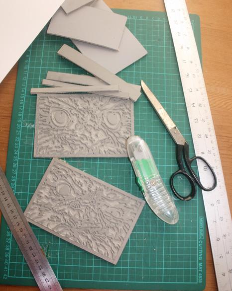 Preparing Linocut Blocks for Printing 1