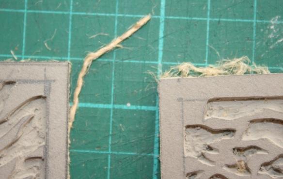 Preparing Linocut Blocks for Printing 2