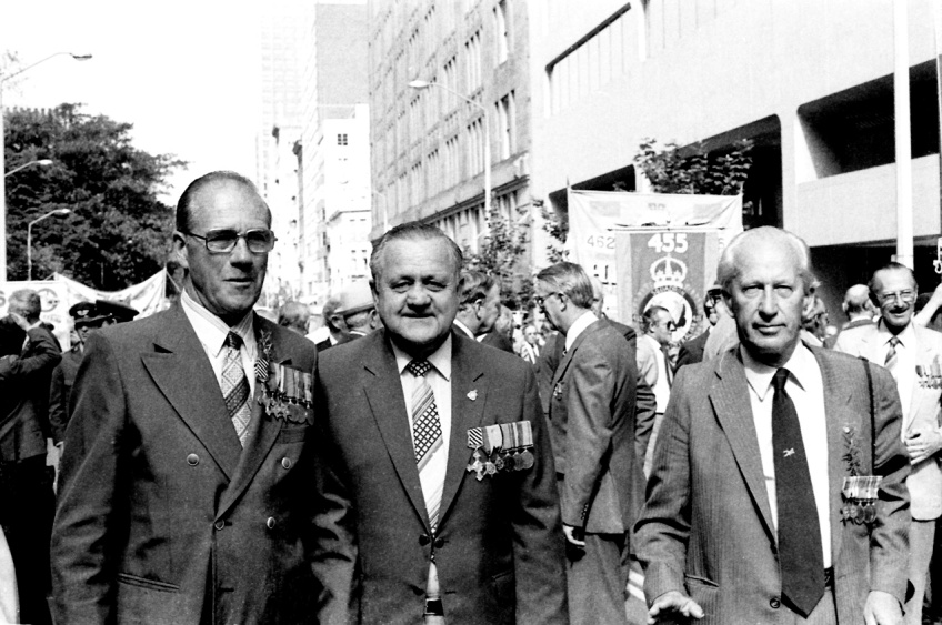 Don Vidler & friends - ANZAC Day 1981
