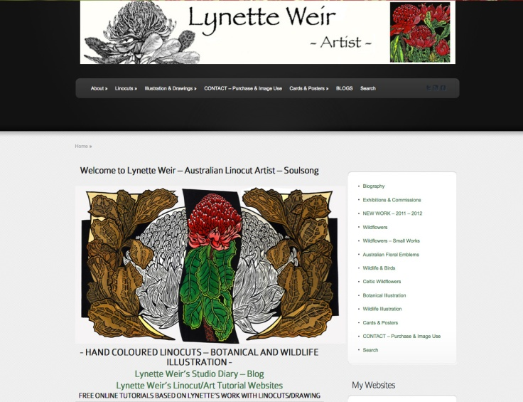 WEBSITE Lynette Weir