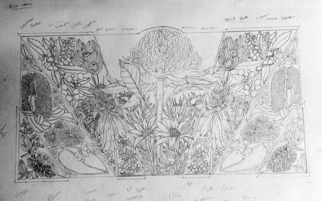 Blue Mtns Wildflowers Design 4