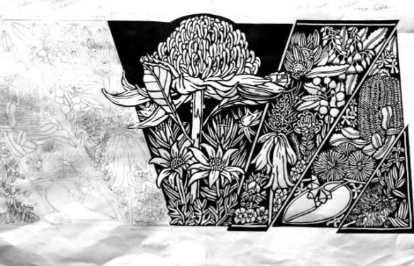 Blue Mtns Wildflowers Design 5