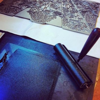 Blue Mtns Wildflowers Print 1