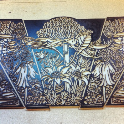 Blue Mtns Wildflowers Print 2