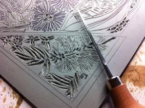 Carving beginnings - Pfeil Lino Carving Tool
