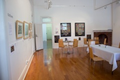 'Wildflowers' Exhibition - Lynette Weir -Northern Rivers Community Gallery, Ballina - pre-renovations