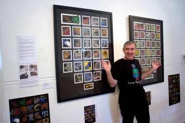 My husband Andy who considers himself a major Patron of the Arts :)