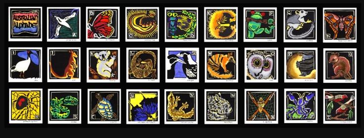 Australian Fauna Alphabet