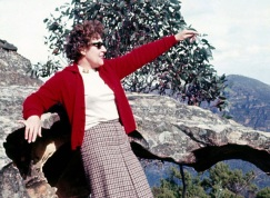 Aunty Lorna visiting the Blue Mountauins c1960's