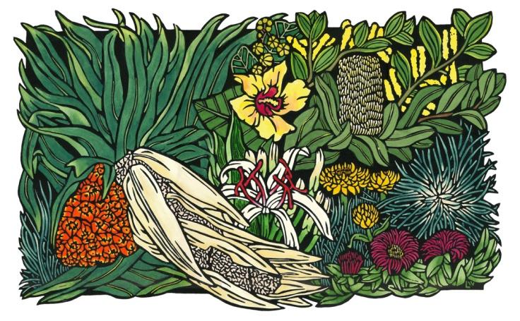 Lynette Weir - Seaside Wildflowers - Oct 2013 WEB