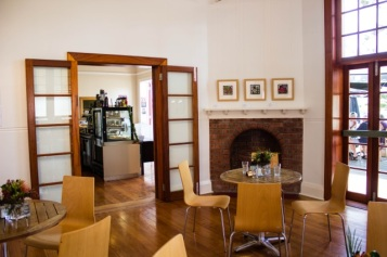 Doors into The Gallery Cafe - Northern Rivers Community Gallery