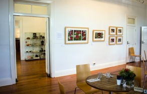 Gallery 1 space looking into the Foyer - Northern Rivers Community Gallery