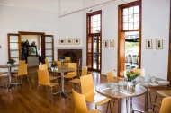 There is an additional set of double timber doors into The Gallery Cafe - Northern Rivers Community Gallery