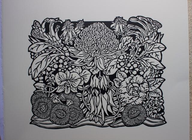 Linoleum Print Designs Art Studio Diary – S...