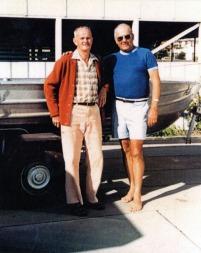 Arthur Gray & his nephew Colin Perkins