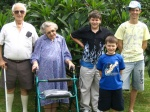 Manning, Judy & their Grandsons