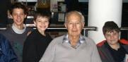 Manning & his Grandsons