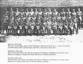 "2/30th Battalion D Company, 18 Platoon ""D"" Company, 2/30 Battalion AIF at Batu Pahat, Malaya, November, 1941 SOURCE: 2/30 Bn. Archives - From Then to Now, the life story of Rob Wells"