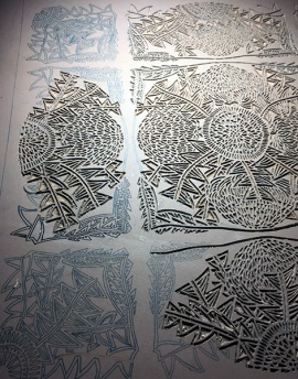 *WILDFLORAL Banksia Carving 4