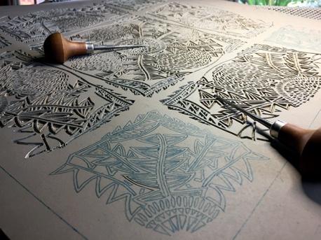 *WILDFLORAL Banksia Carving 6