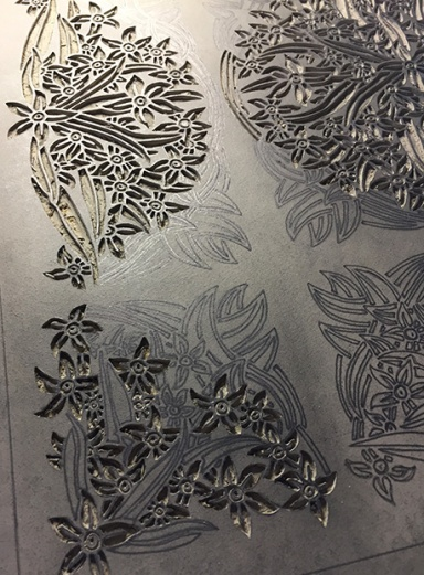 *WILDFLORAL Waxflower Carving 6